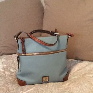 Dooney&Bourque Pebble Leather Crossbody
